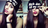 Bitch Don't Kill My Vibe Black Beanie