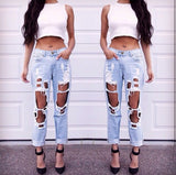The Tuulla Ripped Boyfriend Jeans (2 colors available)