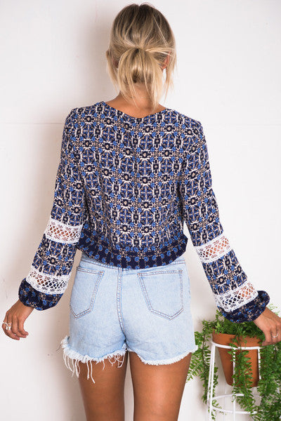 "BOHO ""BANGalow"" Lace Top"