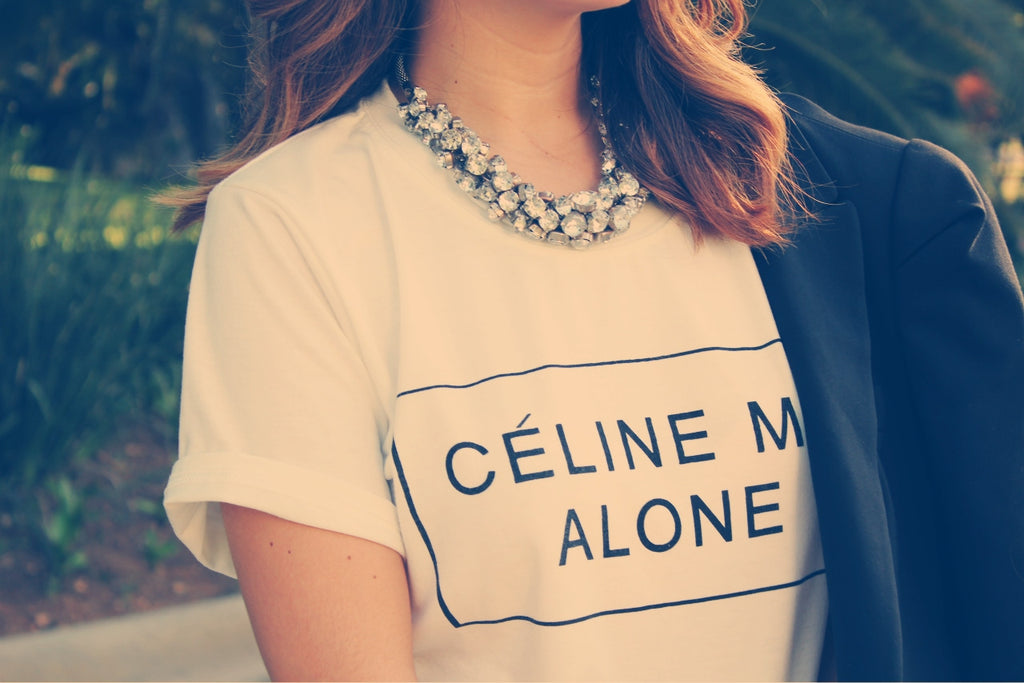 Celine Me Alone T-Shirt