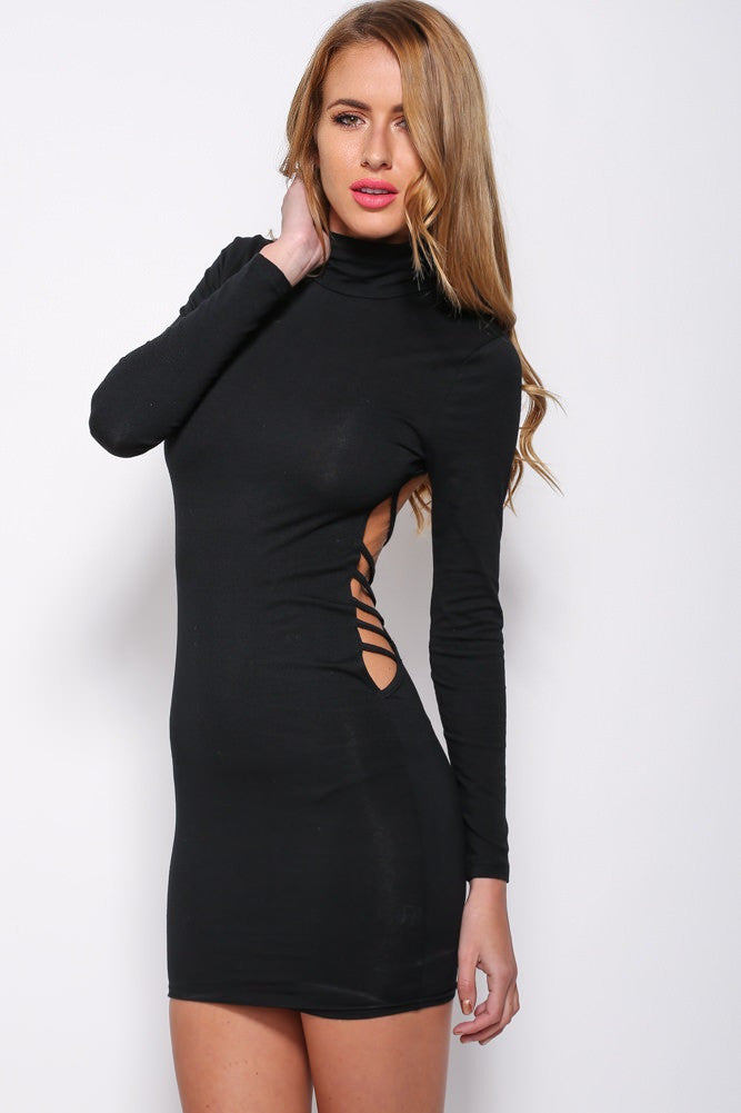 """Bring Sexy Back"" Backless Criss Cross Dress"