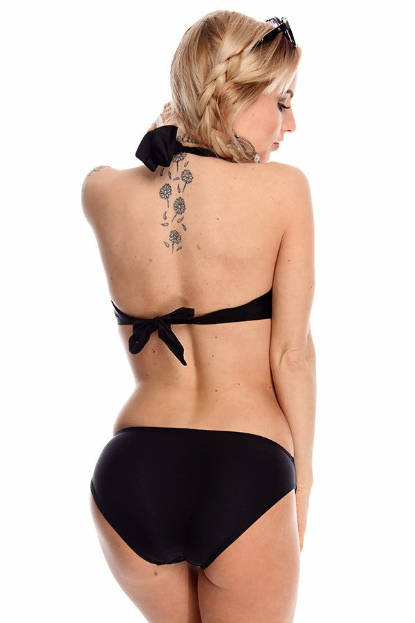 """DEL MAR"" Wired Cutout Monokini Swimsuit (5 colors available)"