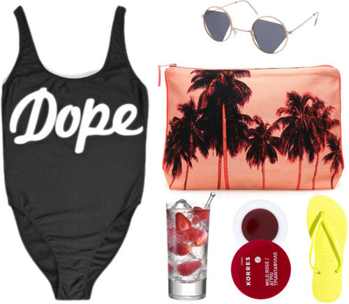 DOPE One Piece Bathing Suit Swimsuit (2 colors available)