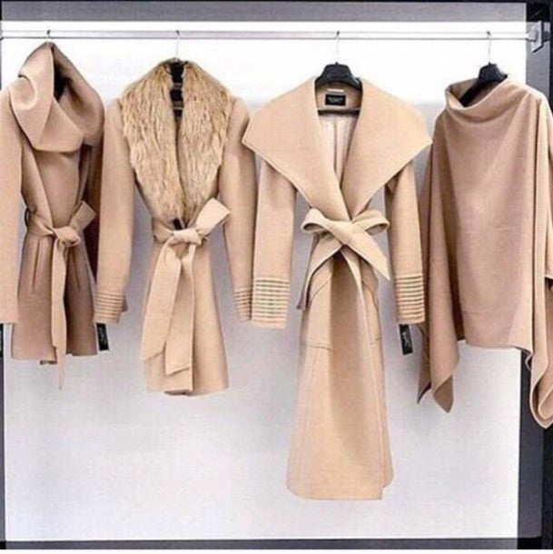 """Cozy Superstar"" Hooded Wool Coat (3 colors available)"