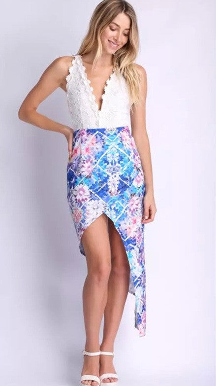 """Lost in your Eyes"" Maxi Cutout Crochet Dress"