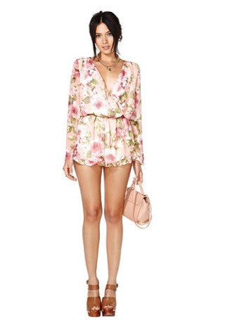 "CHIC ""Garden of Roses"" OnePiece Playsuit"