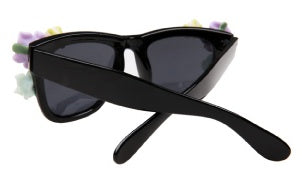 Gardenia Baroque Sunglasses- Black