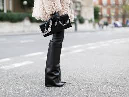 The Pants Leg Wedge Boots (3 colors available)
