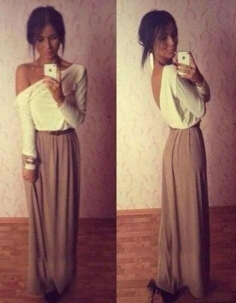 """Greek Persona"" Loose Casual Jersey Maxi Dress"