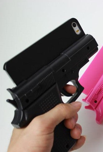 Hand Gun iPhone Phone Case Cover (3 colors available)