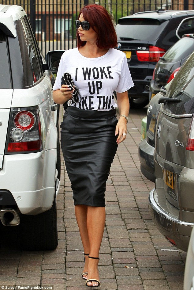 "YONCE ""I Woke Up like This"" T-shirt"