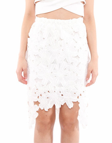 Tea Party High Low Laces Skirt (2 colors available)