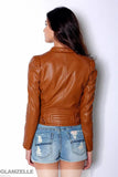 Biker Inspired Leather Jacket (2 colors available)
