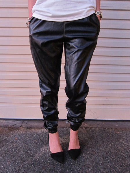 The Original Leatherette Track Pant