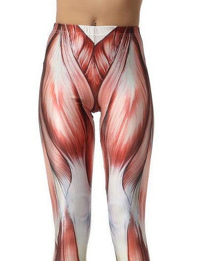 Muscle Print Leggings