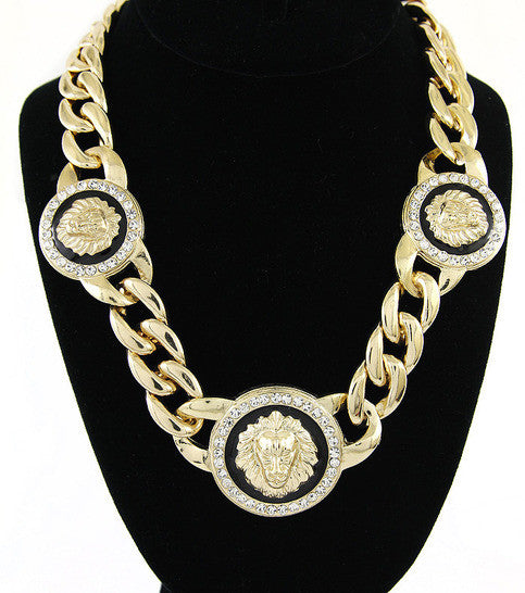 Queen of the Jungle Gold Necklace