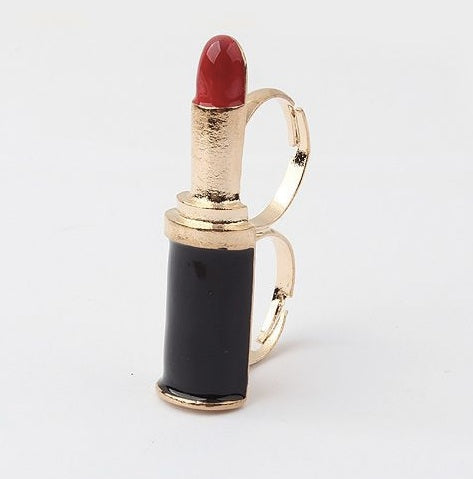 Lipstick Knuckle Ring