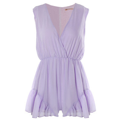 "CHIC ""The Lolita"" Sleeveless Romper (3 colors available)"