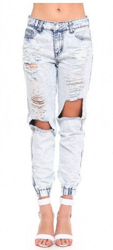 "CHIC ""My BF Jeans"" Ripped Jeans"