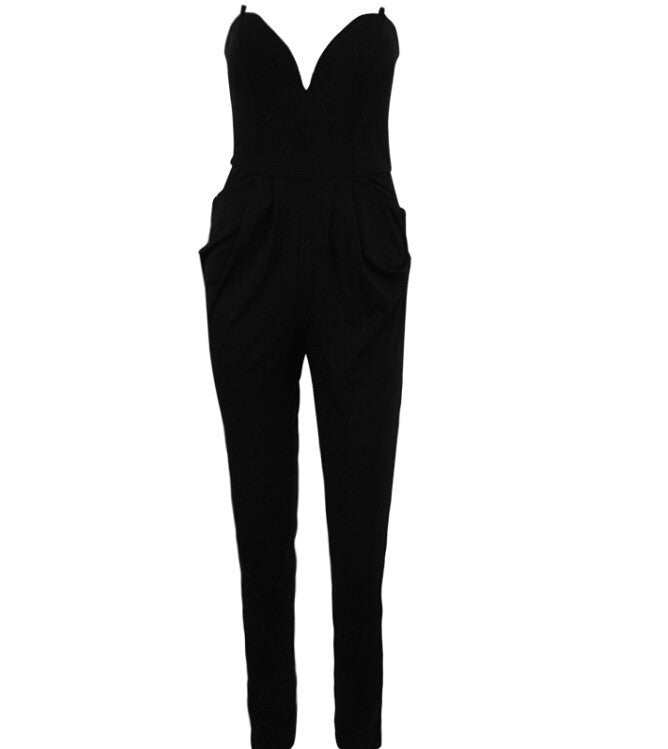 """Irresistible Me"" Strapless Jumpsuit (2 colors available)"