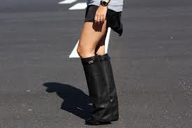 """Shark Tooth"" Short Wedge Boots (4 colors available)"