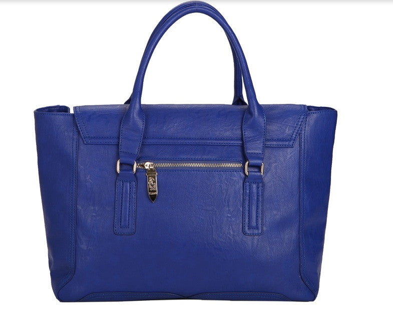 Pashli Blue Satchel