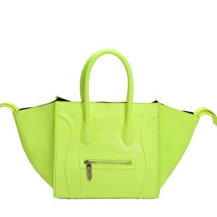 Phantom Satchel- Fluo Green