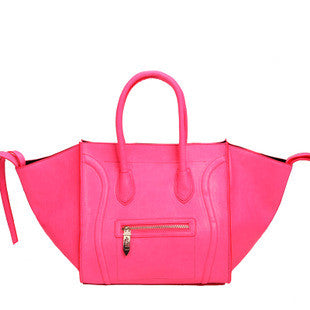 Phantom Satchel- Fluo Pink