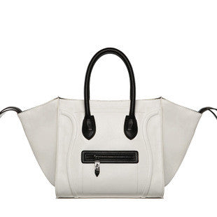 Phantom Satchel- White