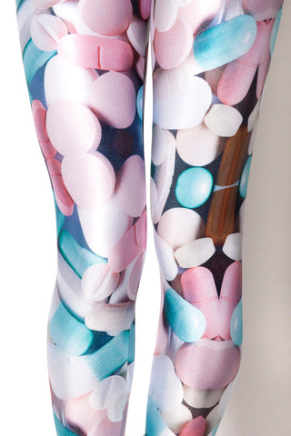 Pills Print Leggings