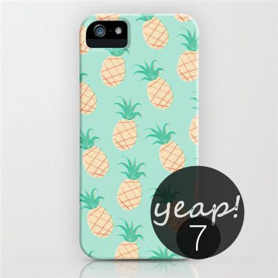 Pineapple Print Iphone Case Cover (Iphone 5/ Iphone 6)