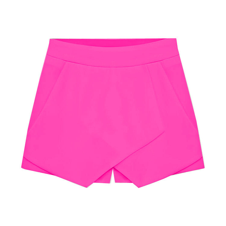 """Field of Dreams"" Salmon Skort Shorts (4 colors available)"