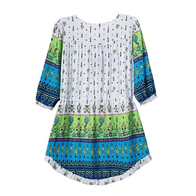 """Inner Pocahontas"" Boho Tassels Summer Dress (4 colors available)"