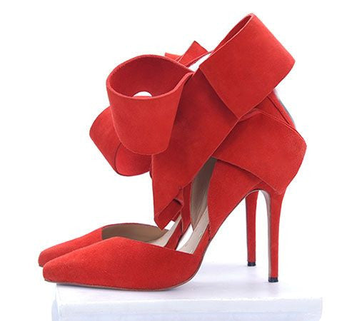 """Crazy for You"" Side Bow Details Pumps (5 colors available)"