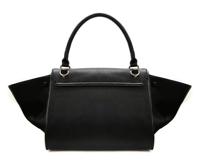 Trapeze Tote Bag ( Black)