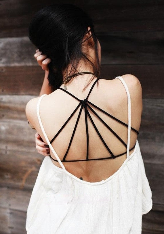 """Good Karma"" Strapy Back Bra Top (3 colors available)"