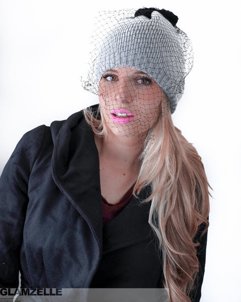 Chiara Veil Beanie (5 colors available)