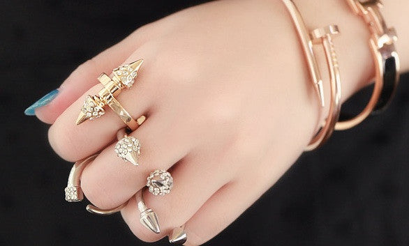 Babylon Crystal Ring (2 colors available)
