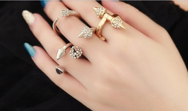 Titan Crystal Ring (2 colors available)