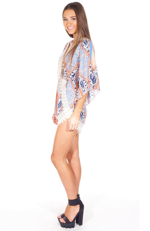 """Believe in Me"" Floral OnePiece Playsuit Romper"