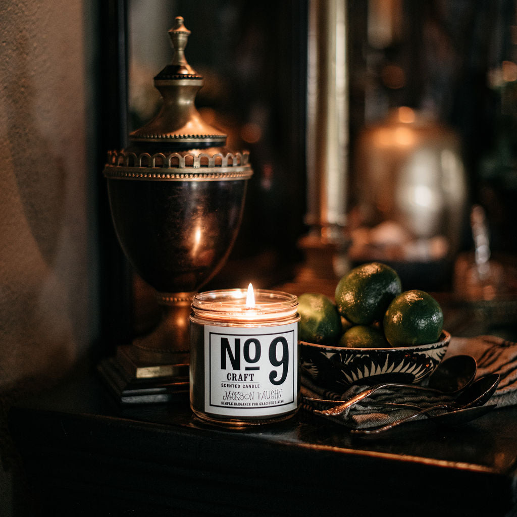 No. 9 Craft Candle