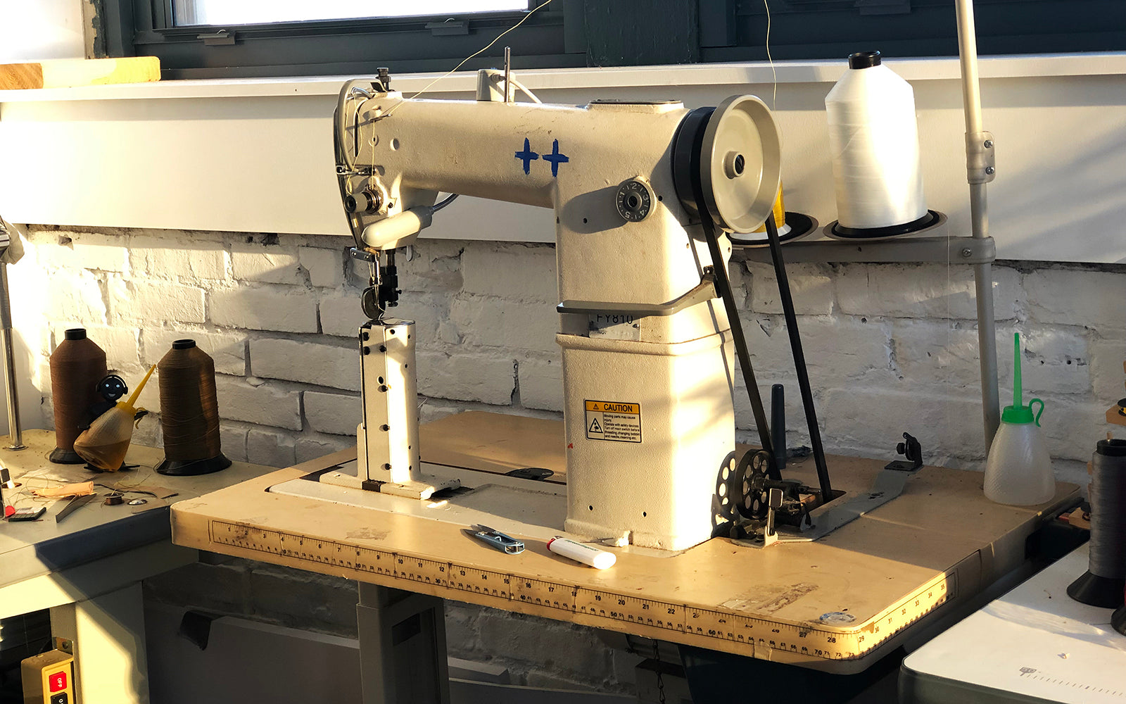 JBF customs sewing machine