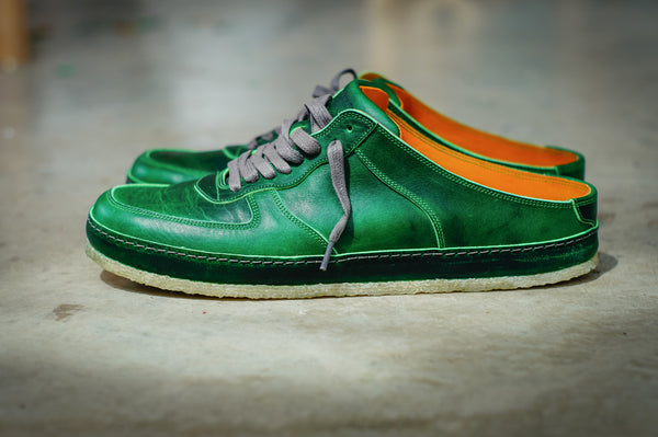 """SM-1"" in Green Horween Dublin"