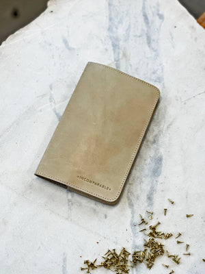 French Calf Pocket Notebook (refillable)