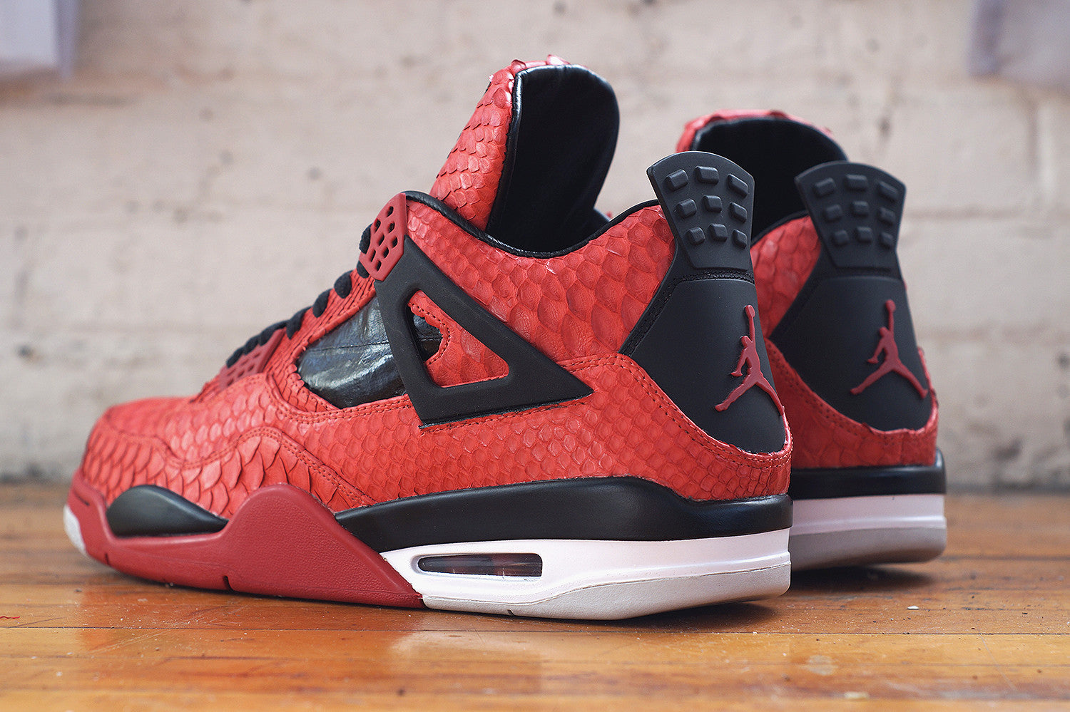 Python   Eel Jordan 4 by JBFcustoms f113c79f8