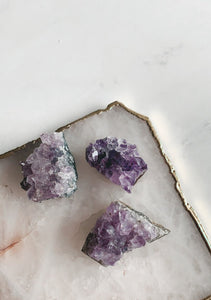 Mini Amethyst Crystal Clusters | Beauty Stone Co