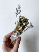 Load image into Gallery viewer, Palo Santo Clear Quartz Ritual Kit