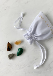 Prosperity Crystal Pouch Beauty Stone Co