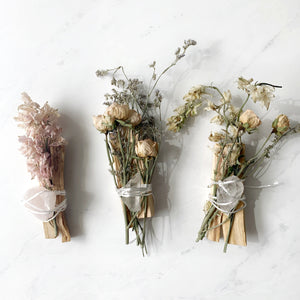 Palo Santo Ritual Flower Kits | Beauty Stone Co