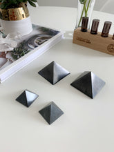Load image into Gallery viewer, Shungite Pyramid digital detox beauty stone co